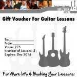 Give A Gift Certificate For Guitar Lessons in Norwich To Your Loved Ones And Show Them How Much You Care
